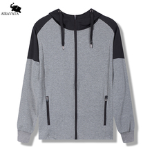 Male Cloak Hoodies Polyester and Cotton Zipper Hoodies Long Sleeve Sweatshirts Hooded Streetwear Mens Pachwork Pullover Outwear