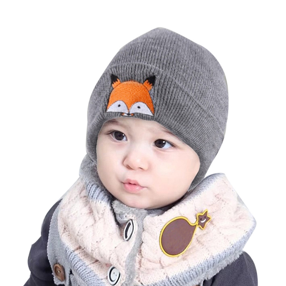 TELOTUNY hat cap for boy winter baby hats knitted beanie caps children bonnet 6M-5T C0419