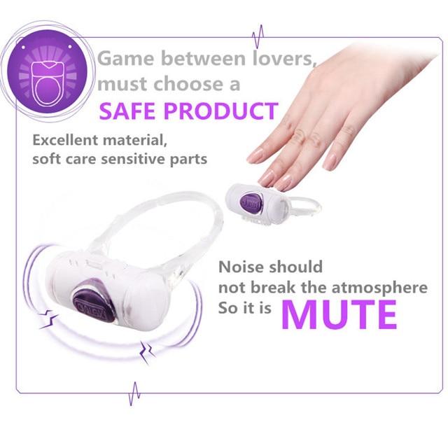Durex O-Vibe Flirting Lock Dildo Vibrating Penis Vibrators Delay Ejaculation Lock Fine Adult Sex Toys for Couples 3
