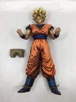 Dragon Ball Figure Son Goku Figure SonGoku MSP COMIC Super Saiyan Figure PVC 280mm Dragon Ball Z Action Figure DBZ DragonBall Z