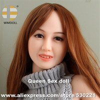WMDOLL Top quality Japan Real Doll Head For Sexy Doll Silicone Sex Dolls Oral Sex Products