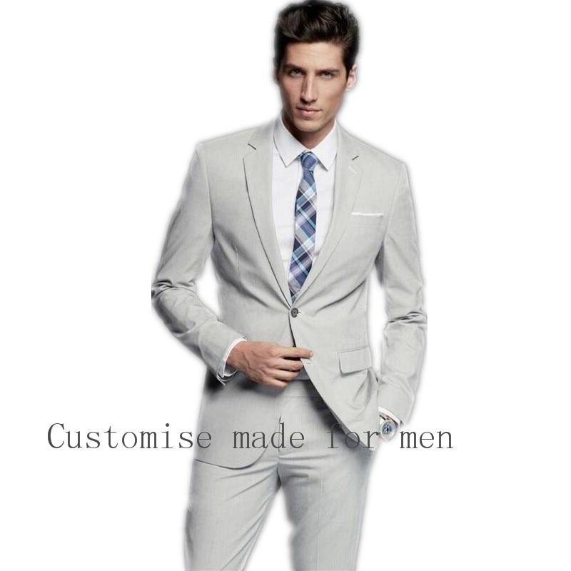 Popular Light Grey Suit-Buy Cheap Light Grey Suit Lots