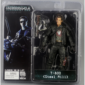 """Image 5 - NECA figura de acción de Terminator 2, caja nueva, envío gratis, T800, Cyberdyne, Showdown, juguete de figura de PVC, 7 """", 18cm"""