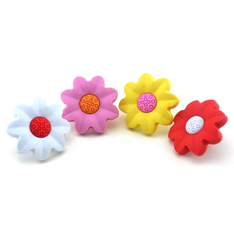 MEGAIRON Cute Cartoon Sunflower Design Knobs Children Kids Room ...