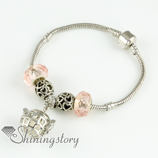 openwork aromatherapy diffuser pendant essential oil diffuser bracelet natural lava stone beads bracelets