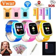 Оригинальный Q90 gps дети телефон позиционирования часы с WI-FI SOS Smart детские часы анти потерянный монитор трекер PK Q80 Q50 Q60