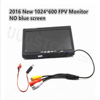 1024 X 600 7 LCD TFT FPV Monitor With T Plug Screen No Blue Monitor Photography