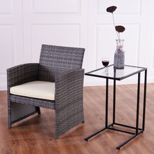 2PCS Tray Side Sofa End Table