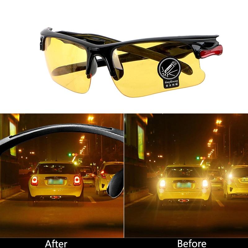 Car Driving Glasses Night Vision Glasses Protective For Ford Focus 2 1 Fiesta Mondeo 4 3 Transit Fusion Ranger Mustang KA S-max