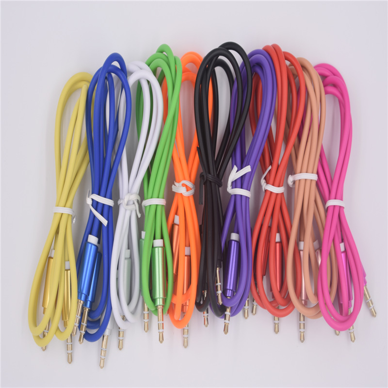 3 5mm TPE Audio Cable Male to Male Extension Cable For Phone Car Headphone PM4 PM3