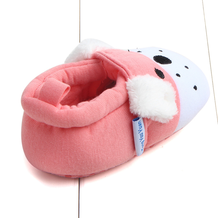 First Walkers Baby Shoes Cotton Anti-slip Booties Baby Girl Boy Shoes Animal Cartoon Newborn Slippers Footwear Booties Kids Gifts (11)