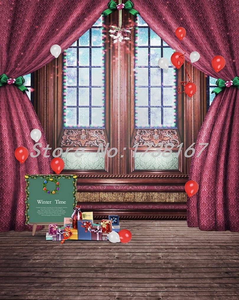 ФОТО 2015 New Newborn  Photography Background Christmas Vinyl  Backdrops 200cm *300cm Hot Sell Photo Studio Props Baby L845