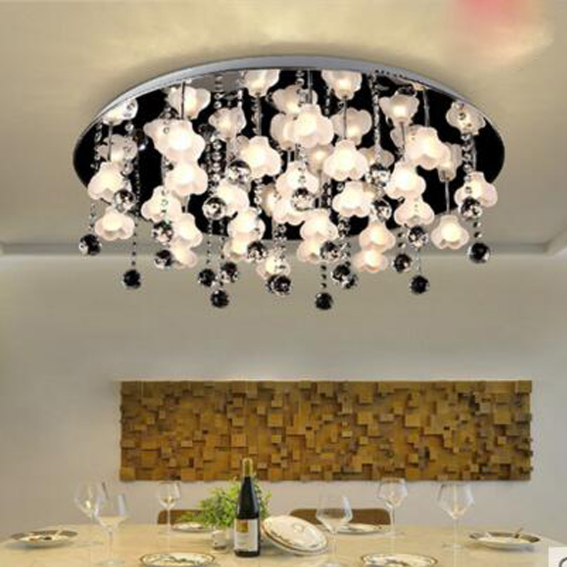 Simple modern led ceiling lamps bedroom lamp flower lamp living room dining room led study bedroom lamp lighting led fixture qsyc modern eye protection led floor lamp dimmable stand lights living room study reading lighting led fixture white