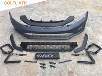 GOLFLIATH New Arrival GLI style PP+ABS front bumper kits For Jetta MK6 2016 2017