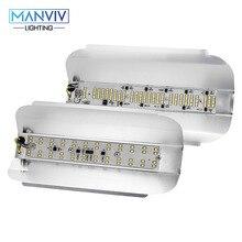 50 واط 100 واط LED الكاشف التيار المتناوب 220 فولت LED مصلحة الارصاد الجوية 2835 رقاقة الدافئة الأبيض البارد عالية الطاقة LED مصباح الشارع المشهد الإضاءة الأضواء