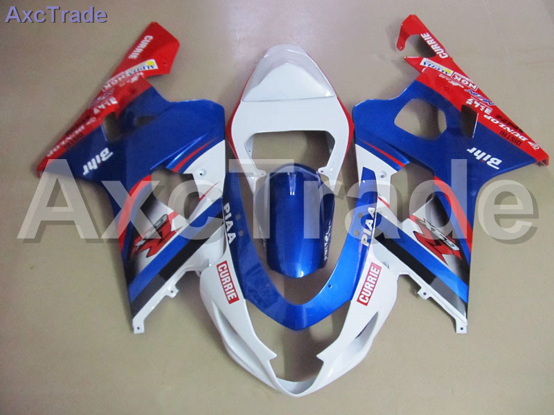 Plastic Fairing Kit Fit For Suzuki GSXR GSX-R 600 750 GSXR600 GSXR750 2004 2005 K4 04 05 Fairings Set Custom Made Motorcycle high quality abs plastic for suzuki gsxr gsx r 600 750 gsxr600 gsxr750 2004 2005 k4 04 05 moto custom made motorcycle fairing