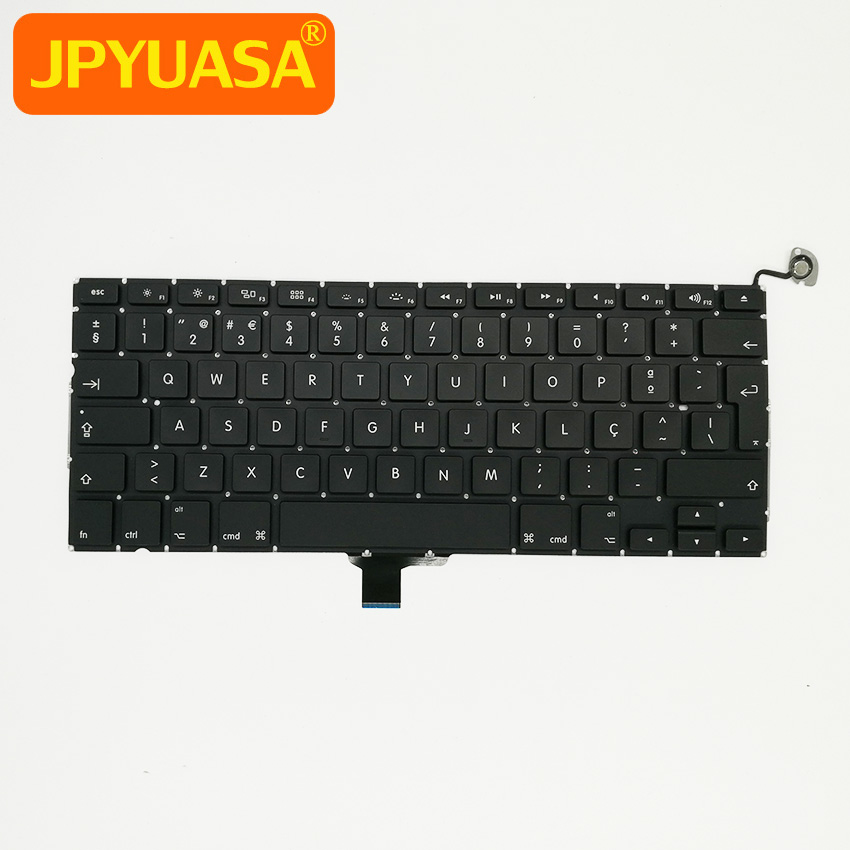 New A1278 Portuguese Keyboard For MacBook Pro 13 A1278 Laptop Portugal PT Keyboard Replacement 2009-2012 YearsNew A1278 Portuguese Keyboard For MacBook Pro 13 A1278 Laptop Portugal PT Keyboard Replacement 2009-2012 Years