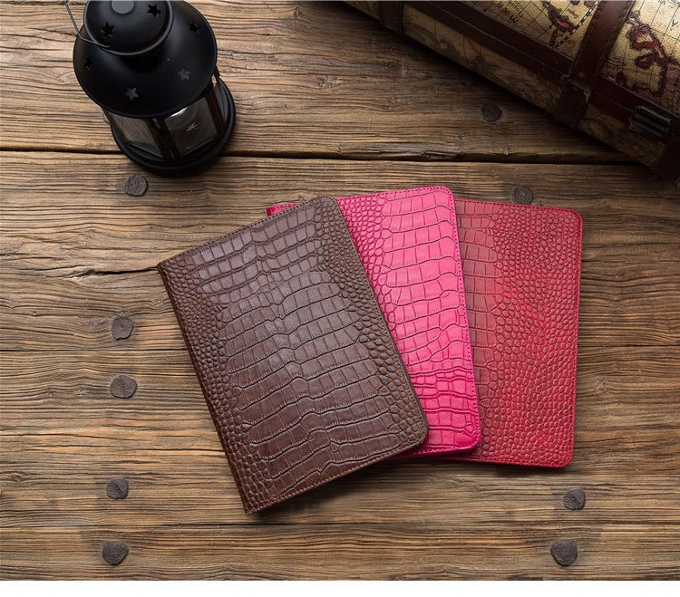 Leopard case For iPad Air 1 A1474 A1475 A1476 Shell Crocodile Tablet Cover With Stand Holder Wallet Card Cases For Apple ipad 5 for apple ipad air 1 full wrap leather case folio folding cover case with passport case card slot 9 7 inches a1474 a1475 ynmiwei