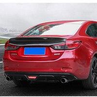 سبويلر لسيارة مازدا 6 أتينزا 2014-2018 مادة PP سبويلر خلفي للسيارة لون برايمر لمازدا 6 أتينزا Mazda6 سبويلر
