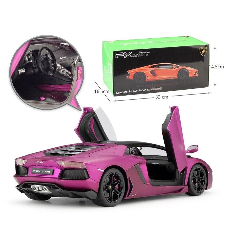 1:18 Welly Lamborghini Aventador LP700 4 mate púrpura Rosa Diecast Coche-in Troquelado y vehículos de juguete from Juguetes y pasatiempos    3