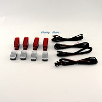 High Quality 8 Pcs Door Warning Light Set 8KD 947 411 8KD947411 4B0 947 411 For