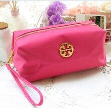 Korean cute lady waterproof cosmetic bag purse candy color ladies cosmetic bags