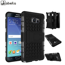 AKABEILA Cell Phone Cases For Samsung Galaxy NoteV Case N9200 Note5 Note V N920 Note 5 N9208 Shell Covers Armor Hybrid Tyre Bags