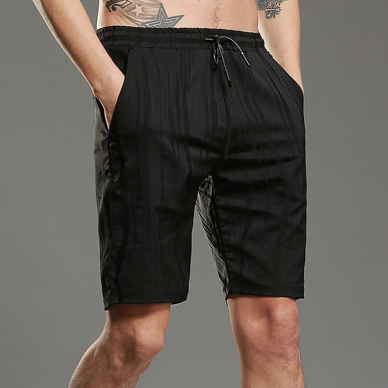 Summer Cotton Shorts Men Fashion Brand Boardshorts Breathable Male Casual Shorts