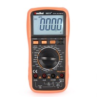 RuoShui 9807A+ Digital Multimeter 19999 Counts True RMS AC/DC Volt Amp Ohm Capacitance Frequency Diode hFE Continuity Tester