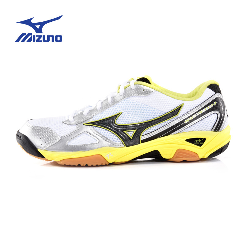 ФОТО MIZUNO Men's Mesh Beathable DMX Cushioning Volleyball Shoes WAVE TWISTER 3 Light Sports Shoes Sneakers V1GA147210 YXV001
