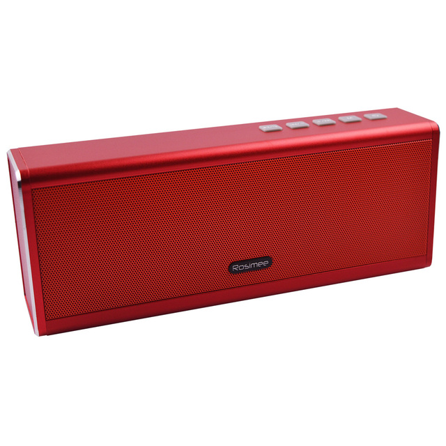 Metal Bluetooth Speaker 4400mAH Power Bank Portable Super Bass Wireless Desktop Car HIFI Speaker Loudspeaker Handfree MIC