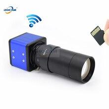 1920P 1080P CamHi Ses Mini WIFI KUTUSU IP Kamera kapalı Kablosuz Güvenlik P2P Onvif CCTV TF Kart Yuvası 5 100mm Manuel zoom objektifi