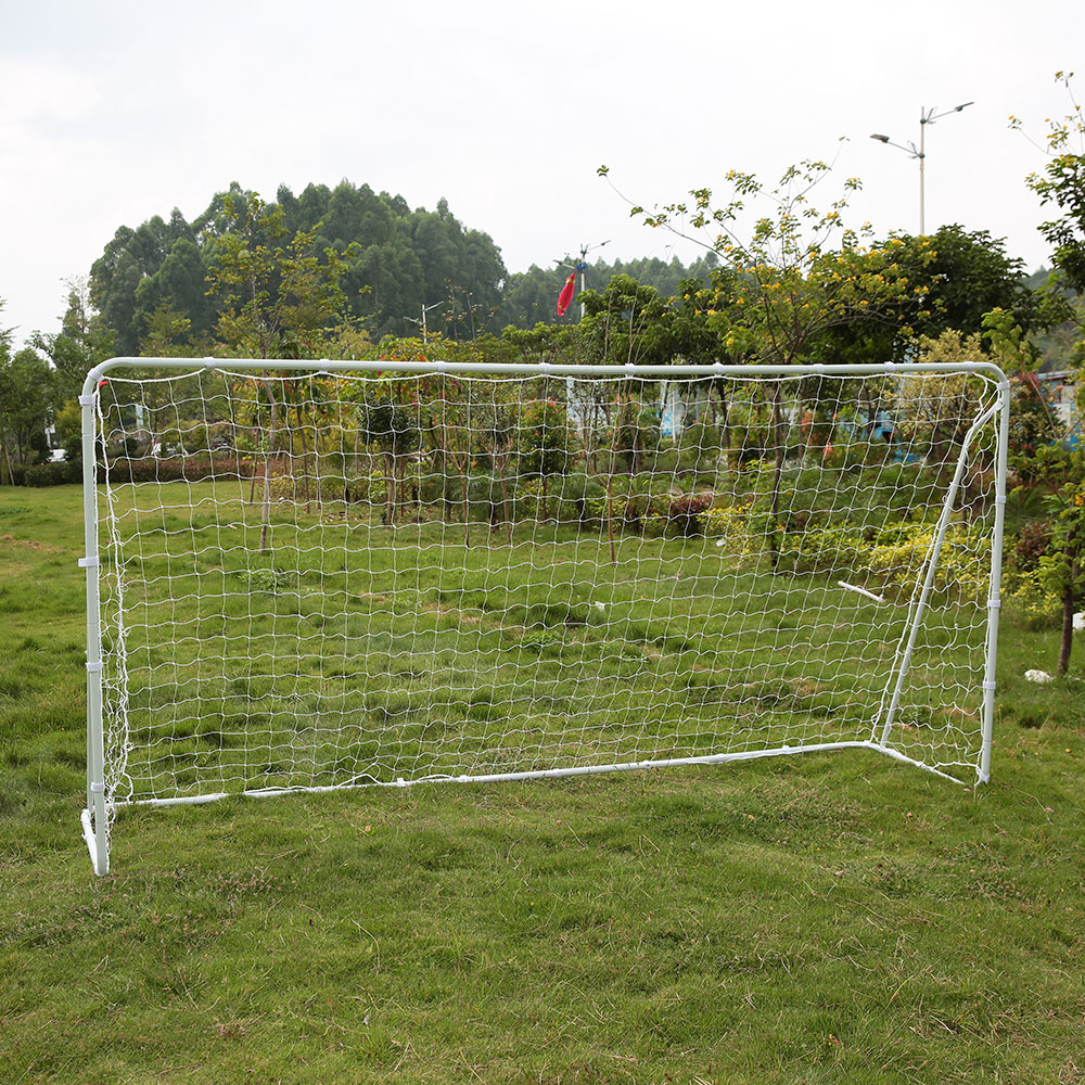 bc3bdd750 Lixada 12x6 FT Soccer Goal with PE Net Sports Large Soccer Goal Fastener  Tape Iron Frame Outdoor Sports Ball Goals 3.6 * 1.8m-in Soccers from Sports  ...