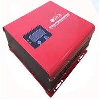 Солнечный Мощность Чистая синусоида Инвертор с контроллером заряда AC Зарядное устройство UPS переключатель Функция 300 Вт 500 Вт 800 Вт 1000 Вт 1200 В