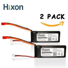 2 шт. Хиксон 2200 мАч 7,4 В 25C Lipo Перезаряжаемые Батарея хорошо подходит для SYMA X8C Радиоуправляемый Дрон