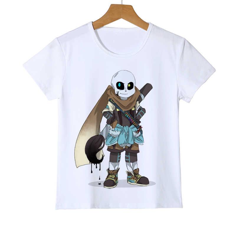 Summer Kid Undertale Game T-shirt 3D Printing Boy Cloths Short Sleeve Girl  Retail Shirts 7d9dc1d439e9