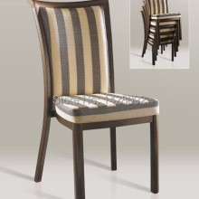 Качественные Роскошные сильные деревянные алюминиевые банкетные стулья LQ-L800