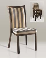 Wholesale Quality Luxury Strong Woodgrain Aluminum Banquet Chairs LQ L800