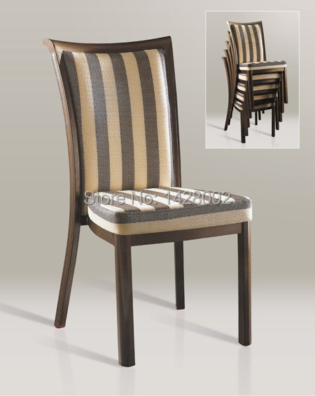 wholesale quality luxury strong  woodgrain aluminum banquet chairs LQ-L800