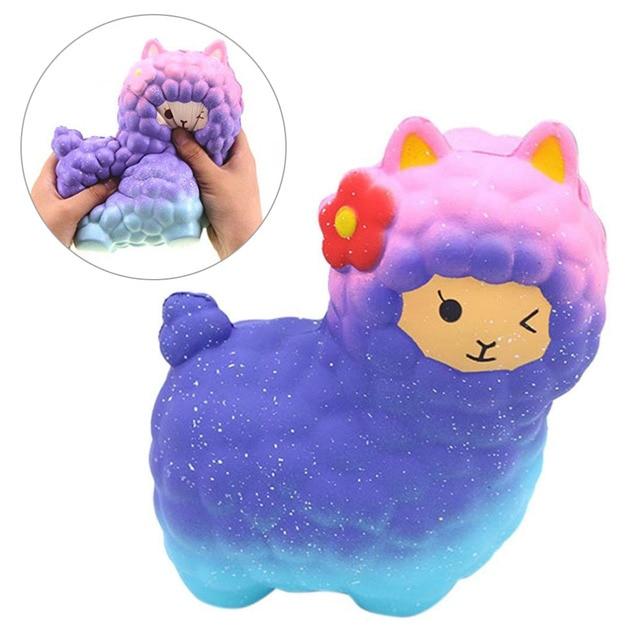 kawaii emoji face colorful panda head squishy sky symphony bread