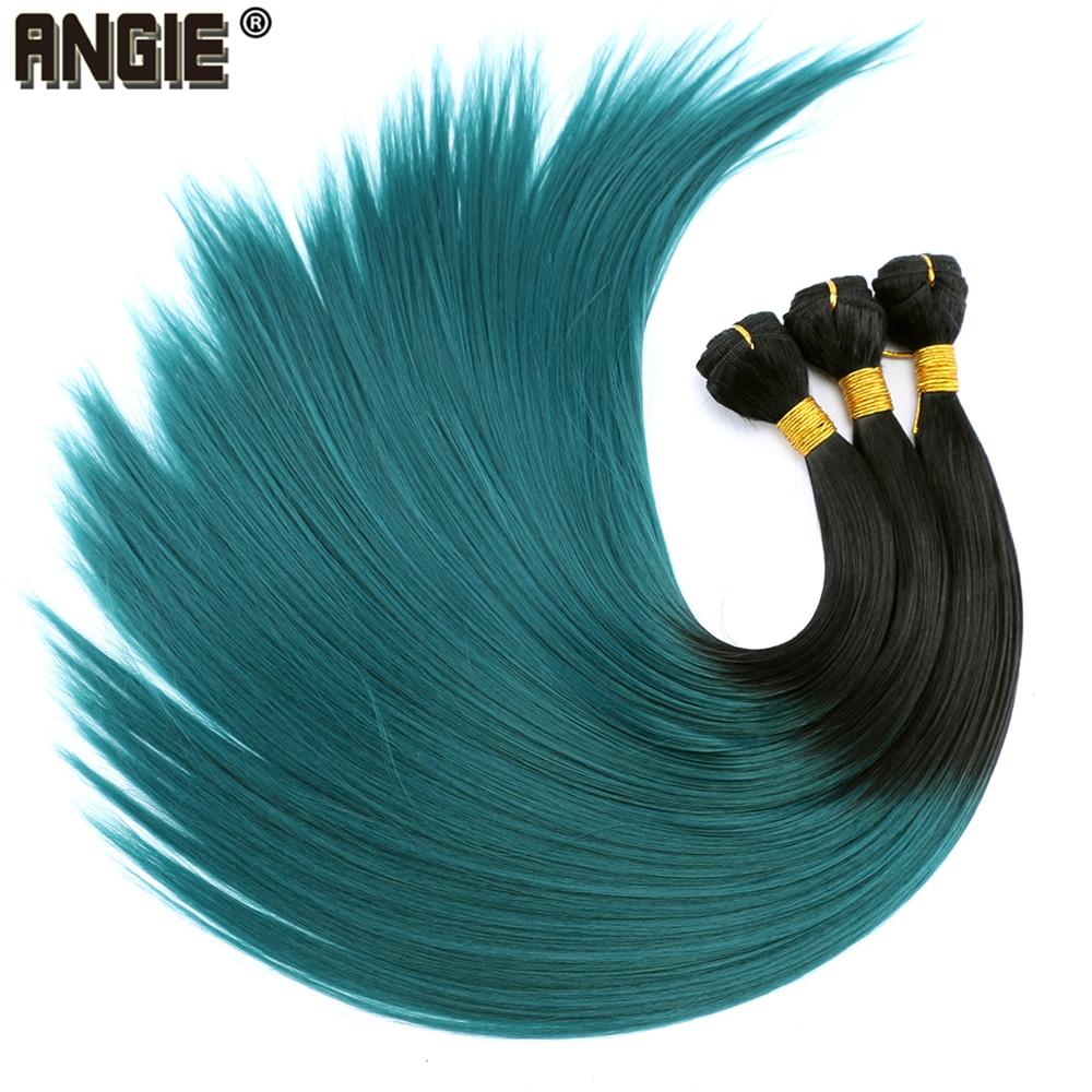 20-24 Polegada feixes de cabelo retas Extensões