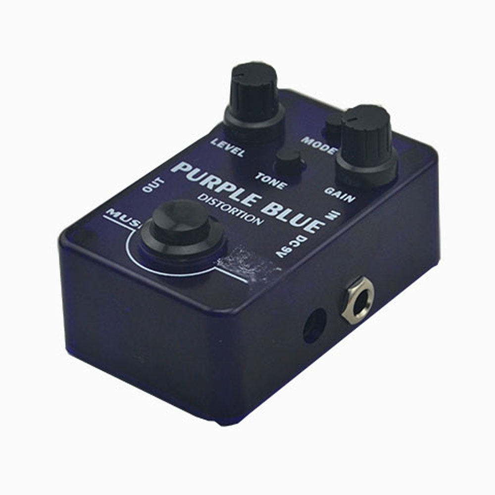 High Quality Guitar Distortion Mini Effect Pedal Electric true bypass effect Guitar Parts & Accessories amc 3 manic high gain distortion guitar effect pedal aroma mini analogue pedals purple color true bypass guitar parts