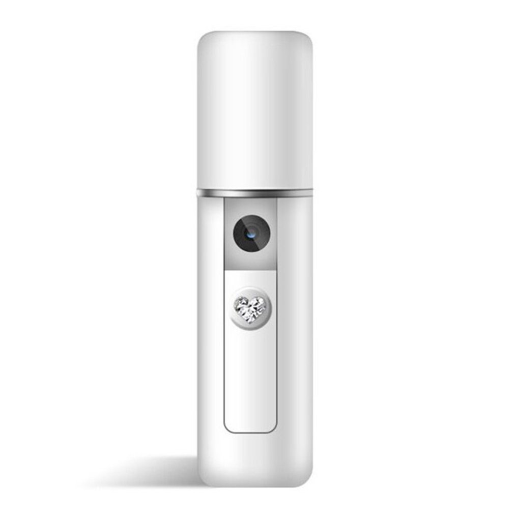 Nanometer Spray Hydrating Instrument Portable Facial Steamer Nebulizer Humidifying Device Moisturizing Skin Care
