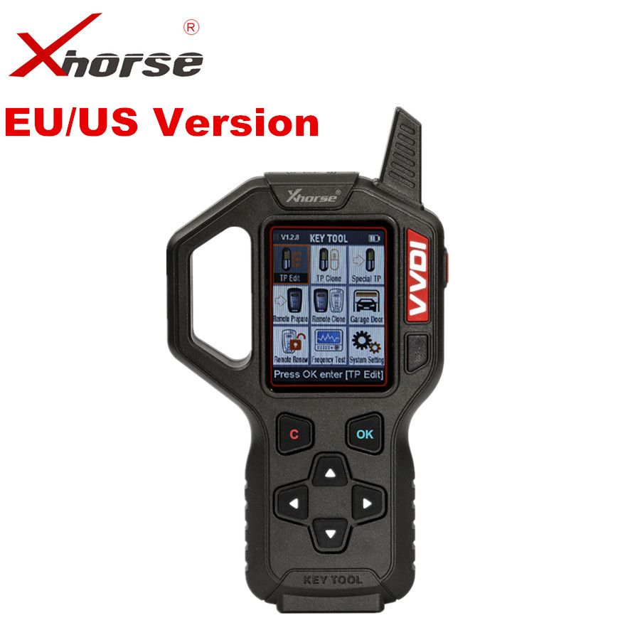 Original Xhorse VVDI Key Tool Remote Key Programmer EU/US Version VVDI Key Tool Auto Transponder Key Generator Programmer original xhorse vvdi2 commander key programmer with basic bmw and obd functions