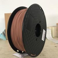 Wood Fiber 1.75mm 1KG/0.1KG 3d printing filament 0.1KG&1KG/Roll 2.2LB Wooden Effects Similar With PLA real as wood color