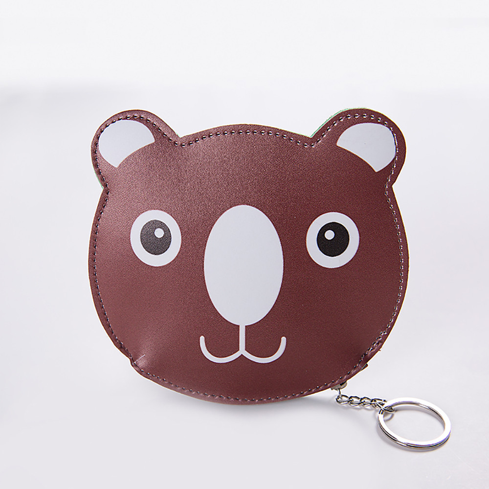 Cat Purse Women Girls Cute Fashion Snacks Coin Purse Wallet Bag Change Pouch Key Holder Pokemon 3D Animal Woman Bag A0706