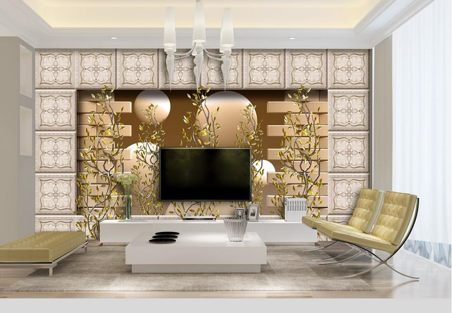 ФОТО customize wallpaper for walls 3 d wallpaper Metal texture abstract tiles 3d wall murals 3d stereoscopic wallpaper