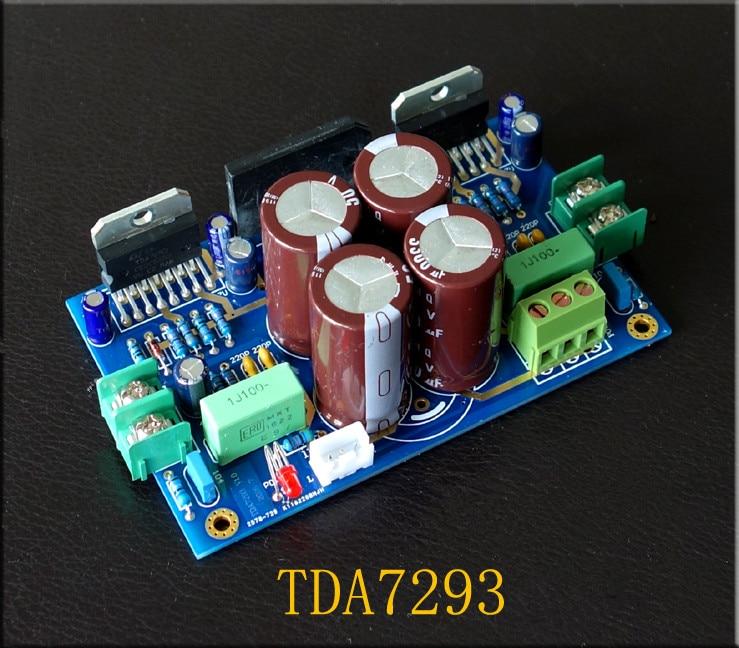 Dual AC 15-32 V 100 W + 100 W 2,0 canal TDA7293 tablero amplificador