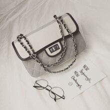 New Diamond Lattice Patchwrok Bags Classic Diamond Lattice Chain Shoulder Bags Causal PU Leather Women Messenger Bags BG319