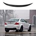 1 serie carbon fiber hinten trunk lip spoiler für BMW E82 Coupe 2011-2017 1 mt M Sport Cabrio P Stil
